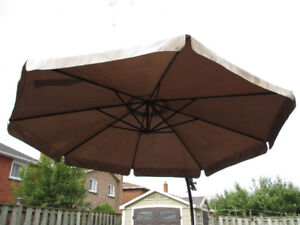 PATIO UMBRELLA FOR SALE - TRUCK NEEDED FOR PICK UP