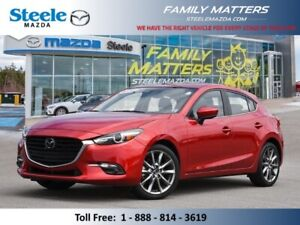 2018 Mazda MAZDA3 GT (INCLUDES A NO CHARGE WARRANTY)