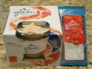 Glade Wax Warmer with 6 Apple Cinnamon Cheer Wax Melts