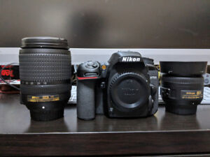Nikon D7500 with two lens - Barely used and in perfect condition