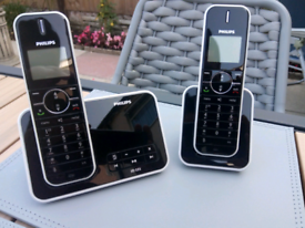 Design collection Philips Cordless phone with answering machine
