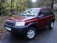 2002 52 Land Rover Freelander 2.0 Td4 GS 5 Door 4X4..AIR CON