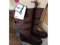 Dubarry Kilternan Galway boots brand new in box size UK 5.5 EU 39