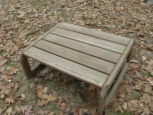 Outdoor Patio Wood Coffee Table