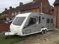 Sterling elite Explorer 2009 fixed island bed twin axle touring caravan