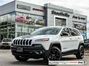 2017 Jeep Cherokee Trailhawk, Company CAR With Only 11,600 KMS