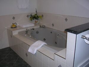 Grey jetted drop-in tub Prince George British Columbia image 3