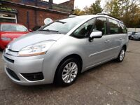 Citroen C4 Picasso 1.6 HDI VTR+ (1 OWNER + LOW RATE FINANCE AVAILABLE) (aluminium/silver) 2008