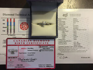 **Gently Used Engagement Ring For SALE**