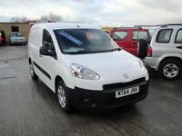 2014 Peugeot Partner 1.6 HDI Professional 3-SEATER Van. Only 28,000 miles.