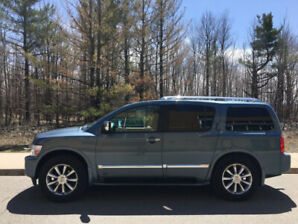 Must sell! Downsizing! 7 passenger 2008 infiniti QX56