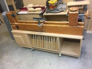 Home Built Wood Lathe