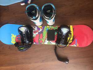RIDE 110 Junior Snowboard