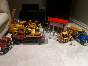Bruder Construction Truck Toy Collection Mint Condition