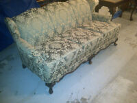 Vintage Wingback Couch