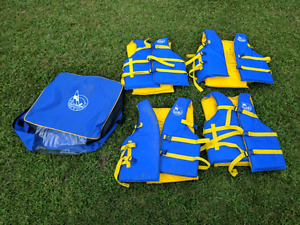 Pack of 4 New Lifejackets