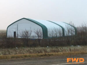 On Sale! 40'-70' Wide Fabric Storage Buildings, Save $10,000!