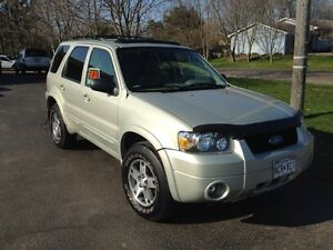 05 Limited edition ford escape