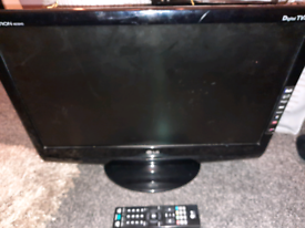 LG TV and PC monitor