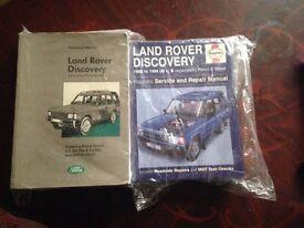 land rover books