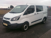 2014 Ford Transit Custom 2.2TDCi ( 100PS ) Double Cab-in-Van 2013.5MY 290 L2H1