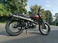 Band new AJS 71 Desert scrambler 125cc retro modern classic learner legal 125