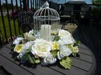 Wedding Bird Cage Centerpiece $50