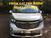 FINANCE FROM £47 PER WEEK - 2014 VAUXALLl VIVARO 1.6CDTi SPORTIVE 2700