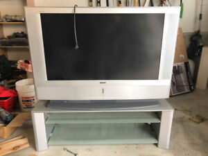 """50"""" SONY Plasma TV with Matching Stand"""