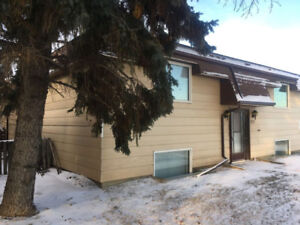 2 Bedroom apartment suite for rent in Elrose SK.