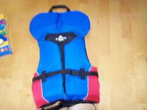 veste de flottaison pour enfant de 3 a 7 ans
