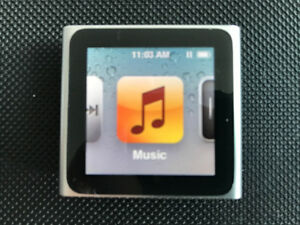 Apple IPod shuffle nano. 8GB model MC525LL