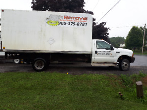 Ford F 550  box truck for sale