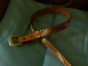 Men's American Eagle Leather Belt size 36' inch / 95 cm