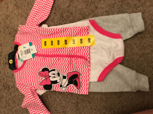 3pc Minnie Mouse outfit