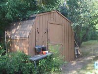 Wood Shed 8 x 10 ft