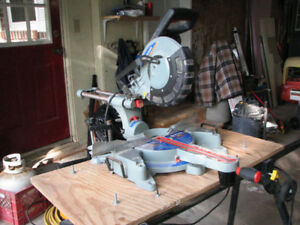 10 in. dual compound miter saw.