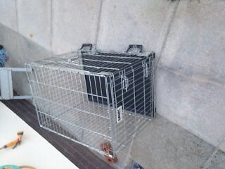 Dog cage quick sale