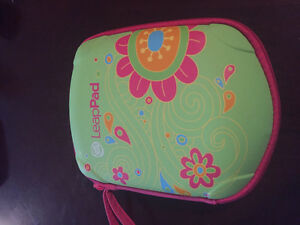 Leap frog pad with games and case