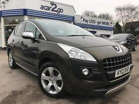 2012 Peugeot 3008 EXCLUSIVE HDI Manual Hatchback