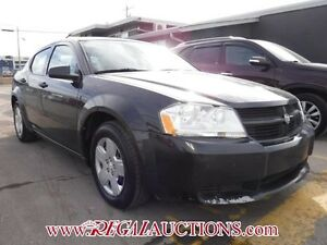 2010 DODGE AVENGER SXT 4D SEDAN FWD