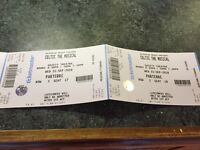2 tickets to 'Celtic - The Musical' in Dublin