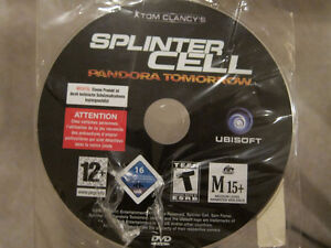 Tom Clancy's splinter Cell Pandora Tomorrow PC DVD