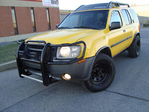 2003 NISSAN XTERRA V6 SUPERCHARGED 4X4  MANUAL ''TAX INCLUDED''