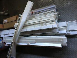 Faux WOOD white blinds different sizes and Patio Door Blinds