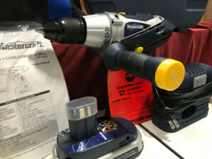 MasterCraft 18V   Cordless Drill (Onboard LCD   Displays)