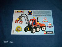 VINTAGE LEGO DIRECT CATALOG ORDER BROCHURE-TOYS-1997-TECHNIC