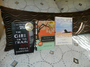 TO KILL A MOCKINGBIRD, GIRL ON A TRAIN, ETC.