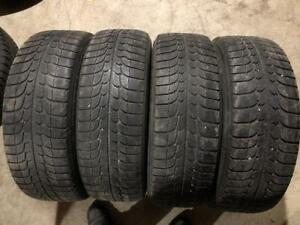 215/60/17 Michelin X-Ice Snow Tires Full Set $55/SET