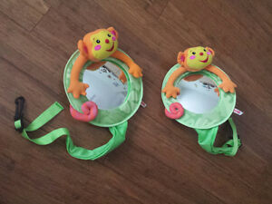 Two Fisher-Price Baby View Auto Mirror (each)